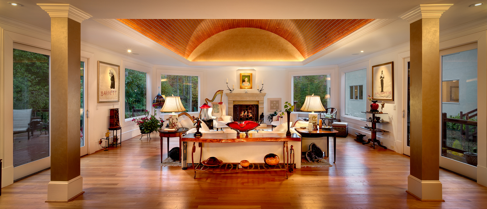 Beautiful Ceiling in Formal Living Area